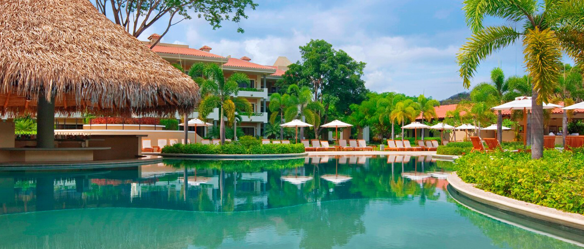 Beach Club Pool and Lounge at The Westin Reserva