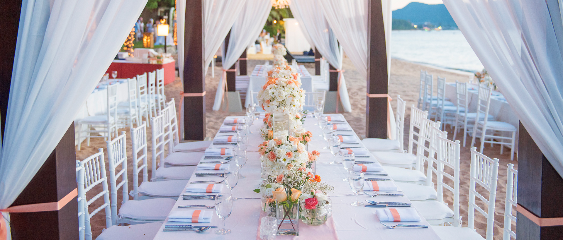 Dining & Reception Crystal Cove by Elegant Hotels