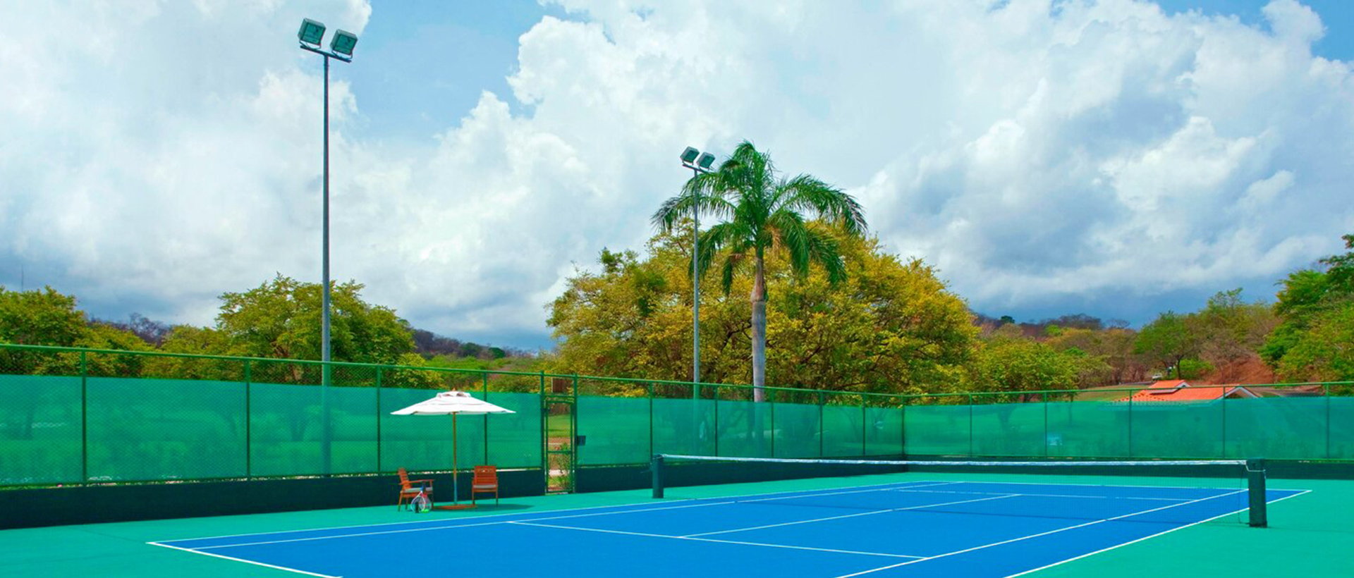 Tennis Courts at The Westin Reserva